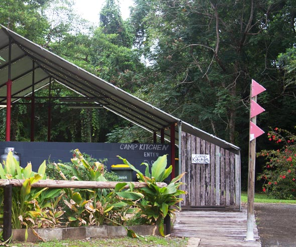 Camp Kitchen Facilities