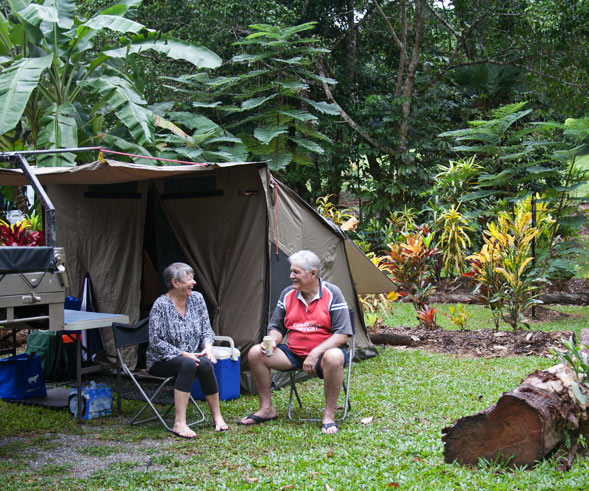 Camping in the Daintree